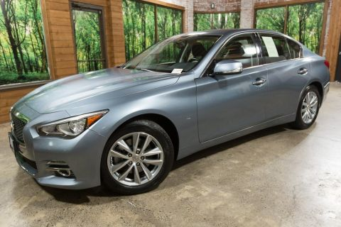 Certified Pre-Owned 2015 INFINITI Q50 Premium AWD, Certified, Sunroof