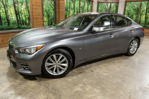 Pre-Owned 2015 INFINITI Q50 Base Moon Roof, Certified