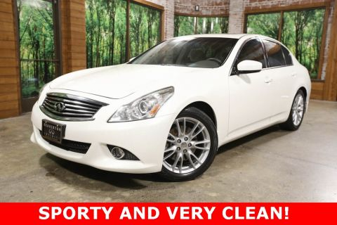 Pre-Owned 2013 INFINITI G37 Journey with Premium Pkg, Navigation, Sunroof