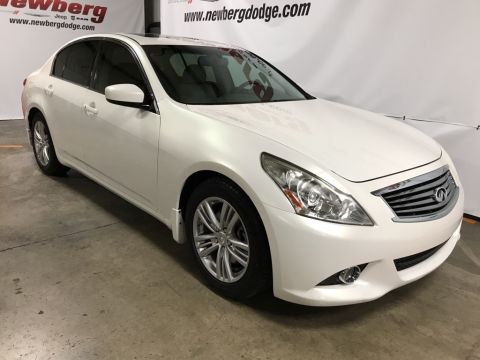 Pre-Owned 2013 INFINITI G37 Journey Premium Pkg, Heated Seats, Moonroof, Bose