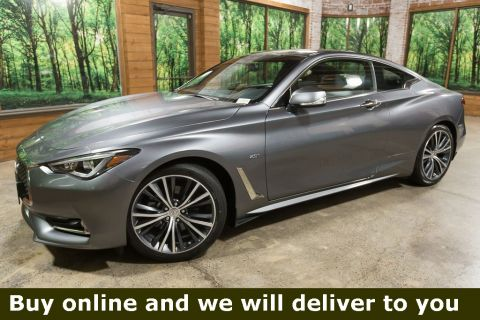 Certified Pre-Owned 2018 INFINITI Q60 2.0t Base AWD, Certified, 1-Owner, Sunroof