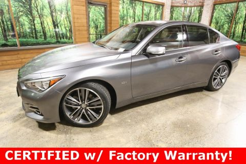 Certified Pre-Owned 2017 INFINITI Q50 3.0t Premium AWD, Certified, Tech Pkg, Driver Assist Pkg