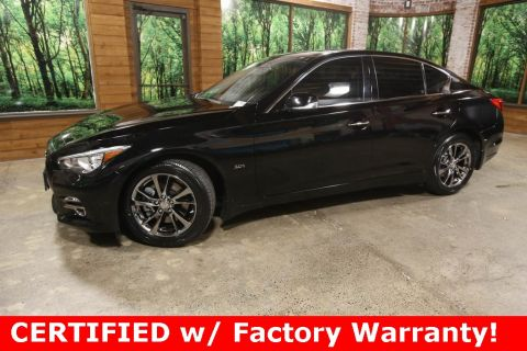 Certified Pre-Owned 2017 INFINITI Q50 3.0t Signature Edition AWD, CERTIFIED, Sunroof, Navigation