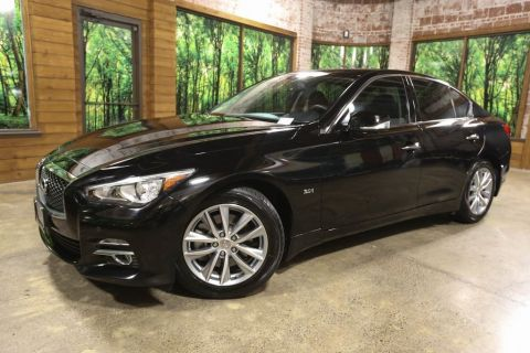 Certified Pre-Owned 2017 INFINITI Q50 3.0t Premium AWD, Driver Assist Pkg, Premium Plus Pkg