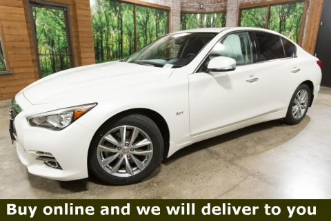 Certified Pre-Owned 2017 INFINITI Q50 3.0t Premium AWD, Premium Plus Pkg, Navigation, CERTIFIED