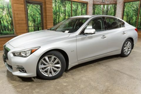 Certified Pre-Owned 2016 INFINITI Q50 3.0t Premium AWD, Driver Assist Pkg, Premium Plus Pkg