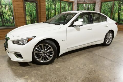Certified Pre-Owned 2018 INFINITI Q50 3.0t LUXE AWD, ProAssist Pkg, Essential Pkg, Sensory Pkg