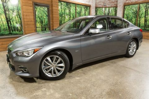 Certified Pre-Owned 2016 INFINITI Q50 3.0t Premium AWD, Certified, 1-Owner, Navigation, Sunroof