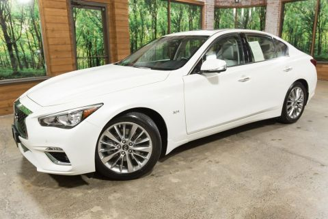 Certified Pre-Owned 2019 INFINITI Q50 3.0t LUXE AWD, Certified, ProAssist Pkg, Essential Pkg