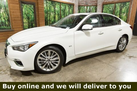 Certified Pre-Owned 2019 INFINITI Q50 3.0t LUXE AWD, ESSENTIAL Pkg, Navigation, Sunroof, CERTIFIED