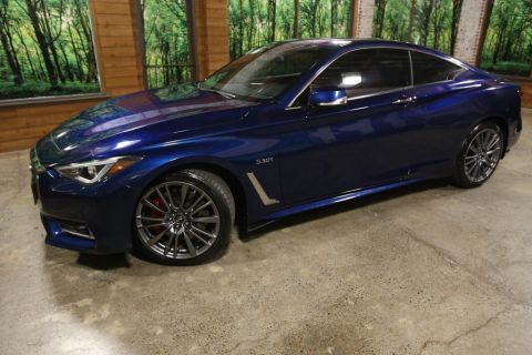 Certified Pre-Owned 2017 INFINITI Q60 Red Sport 400 AWD, Premium Plus Pkg, Sunroof, CERTIFIED