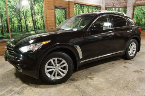 Pre-Owned 2012 INFINITI FX35 Base AWD Navigation, Sunroof, Heated Seats, Premium Pkg