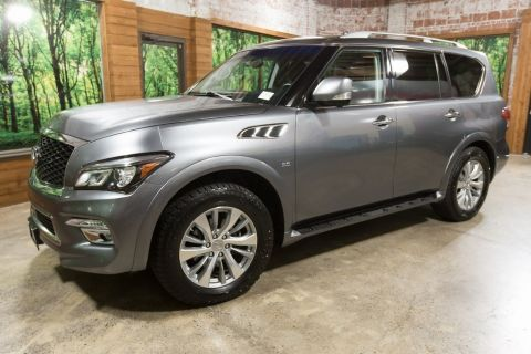 Certified Pre-Owned 2017 INFINITI QX80 Base Navigation, Sunroof, Clean Carfax, CERTIFIED