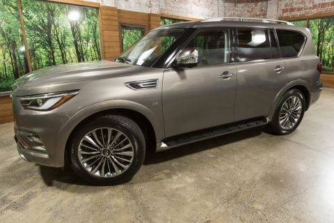 Certified Pre-Owned 2018 INFINITI QX80 Driver Assist Pkg, Deluxe Tech Pkg, Theatre Pkg