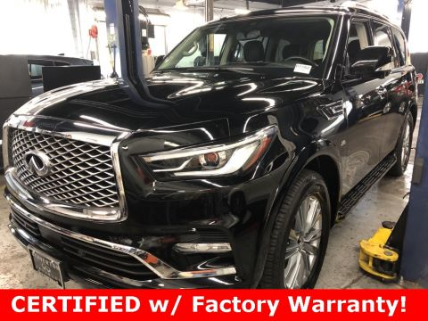 Certified Pre-Owned 2019 INFINITI QX80 LUXE AWD, ProAssist Pkg, CERTIFIED, Sunroof