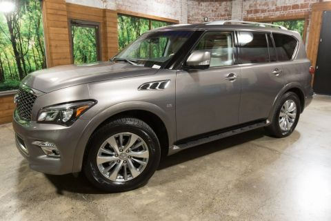 Certified Pre-Owned 2016 INFINITI QX80 AWD w/ Driver Assist PKG, Theater PKG, 1-Owner