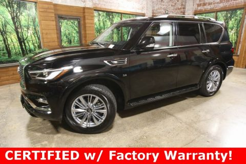 Certified Pre-Owned 2019 INFINITI QX80 LUXE AWD, ProAssist Pkg, Navigation, CERTIFIED