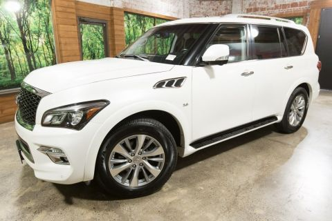 Certified Pre-Owned 2016 INFINITI QX80 AWD, Certified, 1-Owner, Backup Cam, Heated Seats