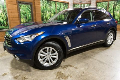 Pre-Owned 2016 INFINITI QX70 Base Premium, Navigation, AWD