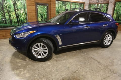 Certified Pre-Owned 2016 INFINITI QX70 Base AWD, Sunroof, Bose Stereo, CERTIFIED