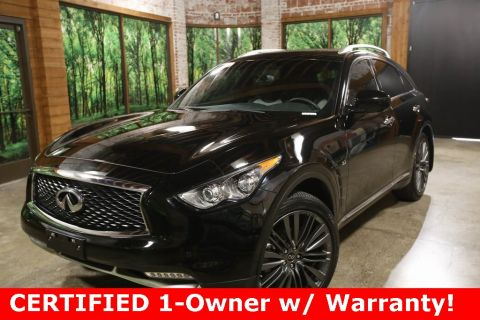 Certified Pre-Owned 2017 INFINITI QX70 Limited AWD, Tech Pkg, Premium Pkg
