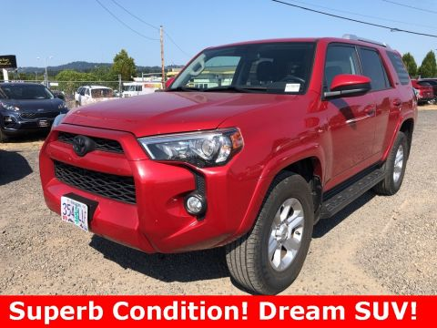 Pre-Owned 2017 Toyota 4Runner SR5 4WD with Navigation