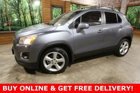 Pre-Owned 2015 Chevrolet Trax LTZ AWD with Sunroof, Heated Seats and Bluetooth