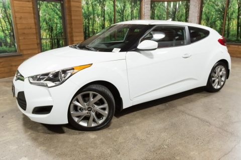 Pre-Owned 2016 Hyundai Veloster 1-OWNER, CLEAN TITLE/CARFAX, AUTOMATIC