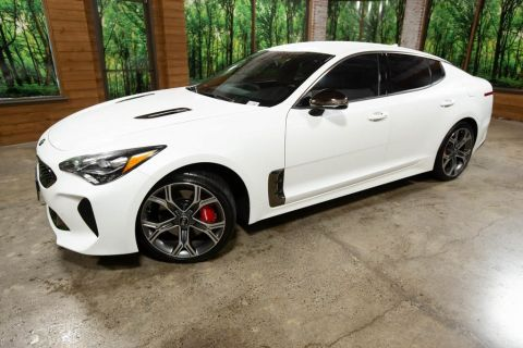 Certified Pre-Owned 2019 Kia Stinger GT AWD, Heated Seats, Red Interior Group, CERTIFIED