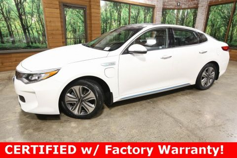 Certified Pre-Owned 2017 Kia Optima Plug-In Hybrid EX Tech Pkg, CERTIFIED, Panoramic Sunroof, Navigation