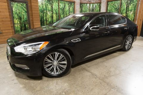 Certified Pre-Owned 2016 Kia K900 Premium CERTIFIED 1-Owner, Navigation, Sunroof
