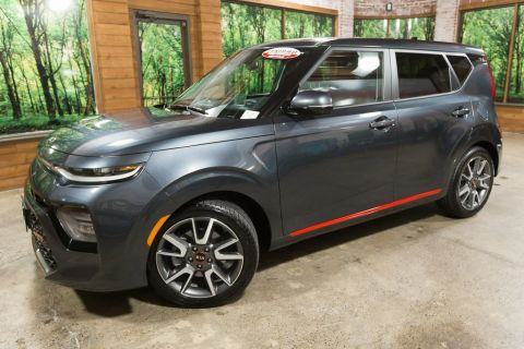 Certified Pre-Owned 2020 Kia Soul GT-Line Turbo CERTIFIED, Sunroof, Navigation, 1-Owner