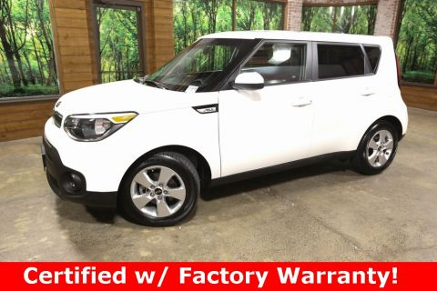Certified Pre-Owned 2018 Kia Soul Base 1-Owner, CERTIFIED