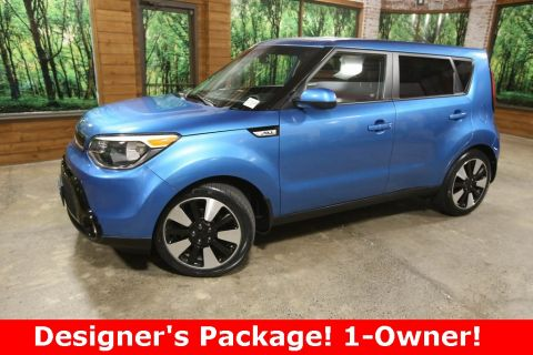 Pre-Owned 2016 Kia Soul Plus 1-Owner, Designer Pkg