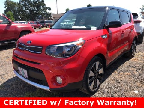 Certified Pre-Owned 2018 Kia Soul Plus CERTIFIED, 1-Owner, Designer Package