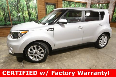Certified Pre-Owned 2017 Kia Soul Plus CERTIFIED, Backup Camera