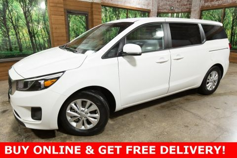 Pre-Owned 2018 Kia Sedona LX 1-Owner, Slide n Stow Seats, Clean Carfax