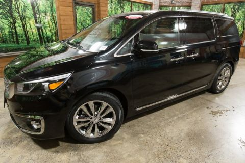 Certified Pre-Owned 2018 Kia Sedona SX Limited CERTIFIED, Navigation, Heated Cooled Seats