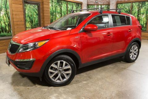 Certified Pre-Owned 2015 Kia Sportage LX All-Wheel-Drive, 1-Owner, Clean Carfax