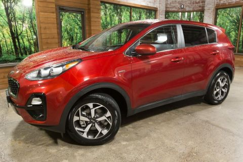 Certified Pre-Owned 2020 Kia Sportage LX AWD, Certified, 1-Owner, 100k Mile Warranty