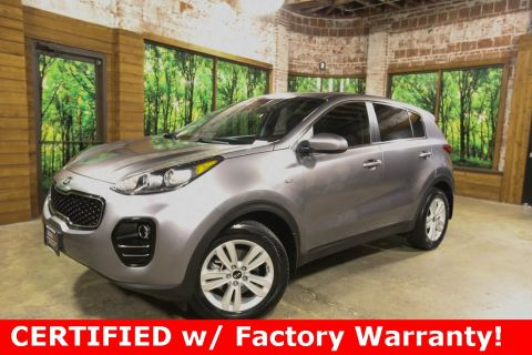 Certified Pre-Owned 2018 Kia Sportage LX AWD, 1-Owner, CERTIFIED