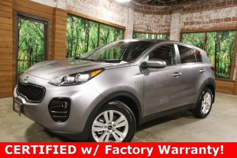 Certified Pre-Owned 2017 Kia Sportage LX AWD, 1-Owner, CERTIFIED