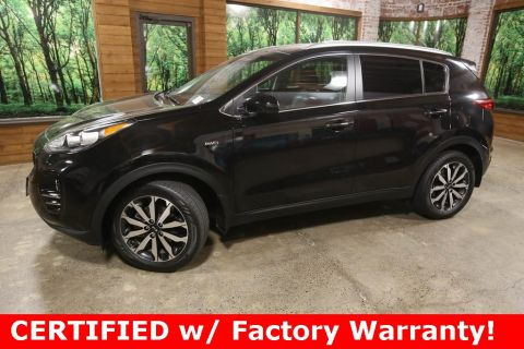 Certified Pre-Owned 2017 Kia Sportage EX AWD, Certified, 1-Owner