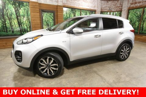 Certified Pre-Owned 2017 Kia Sportage EX AWD, 1-Owner, Certified, Leather Heated Seats