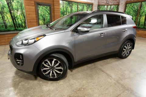 Certified Pre-Owned 2019 Kia Sportage EX AWD, Premium Pkg, Sunroof, CERTIFIED, 1-Owner