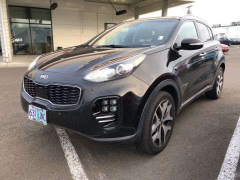 Certified Pre-Owned 2017 Kia Sportage SX Turbo AWD, Panoramic Roof, Navigation, CERTIFIED