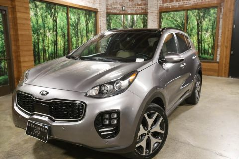 Certified Pre-Owned 2018 Kia Sportage SX Turbo AWD, 1-Owner, Sunroof, CERTIFIED