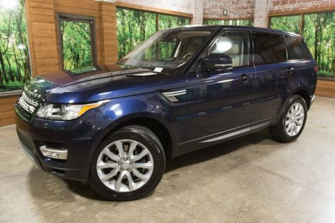 Pre-Owned 2016 Land Rover Range Rover Sport 3.0L V6 Supercharged HSE 1-Owner, Navigation, Panoramic Roof, LOW MILES