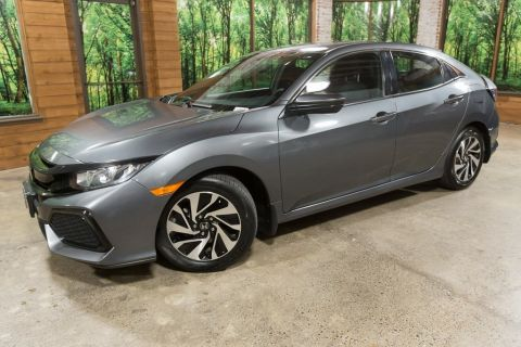 Pre-Owned 2017 Honda Civic LX Hatchback (Clean Carfax/Title), Low Mileage