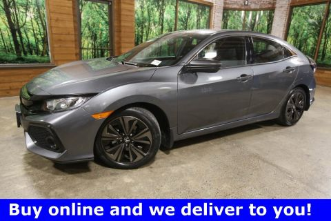 Certified Pre-Owned 2017 Honda Civic EX Hatchback, 1-Owner, Sunroof, CERTIFIED